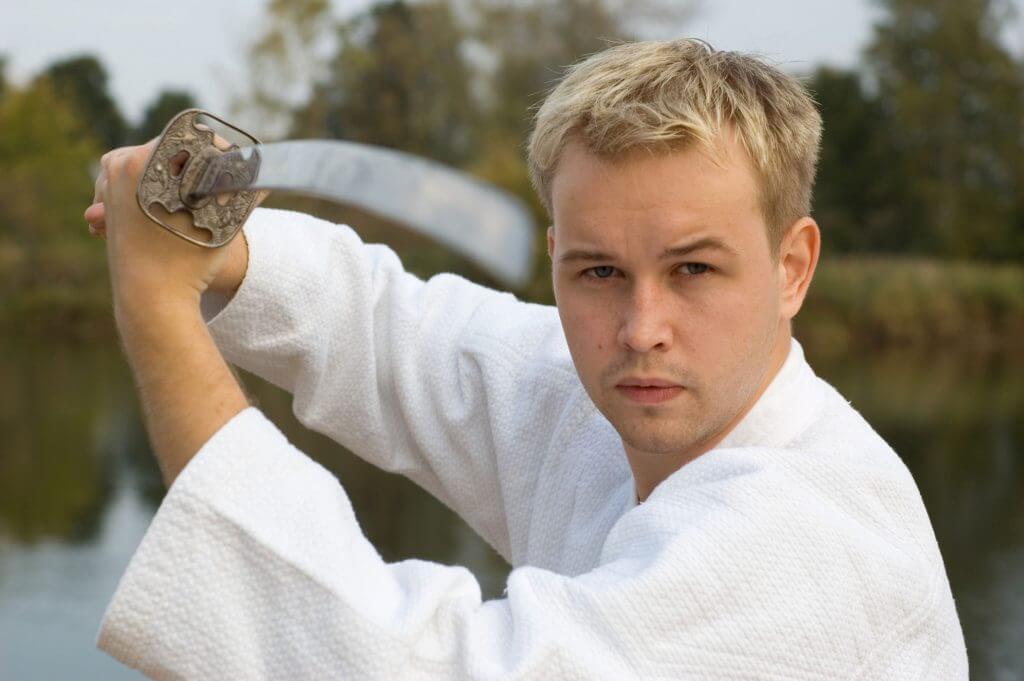 Martial Arts Lessons for Adults in Zephyrhills FL - Samurai Sword Posing Blog