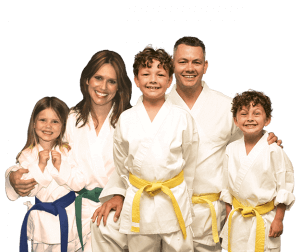 Martial Arts Lessons for Families in Zephyrhills FL - Group Family for Martial Arts Footer Banner
