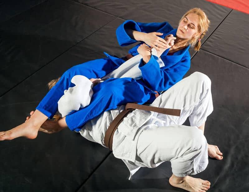Brazilian Jiu Jitsu Lessons for Adults in Zephyrhills FL - Arm Bar Women BJJ