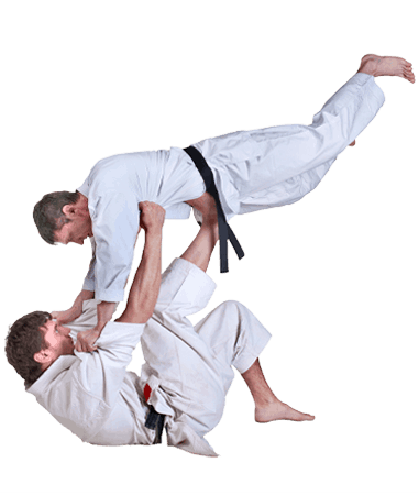 Brazilian Jiu Jitsu Lessons for Adults in Zephyrhills FL - BJJ Floor Throw Men